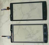 Сенсорний екран для смартфону Lenovo A2010, тачскрін чорний