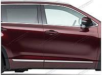 Хром молдинги нижние Toyota Highlander 2014-on