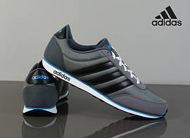 Кроссовки мужские adidas Neo v racer оригинал, фото 2