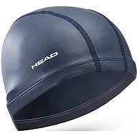 Шапочка для плавания HEAD Lycra silicone синяя (код 213-126324)