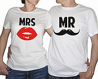 "Парные футболки ""Mr. and Mrs."""
