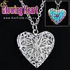 """Прикраса на шию - """"Glowing Heart"""" + подарункова упаковка"""