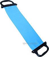 Эспандер-лента с ручками, средней жесткости, 75 см, разн. цвета., фото 1