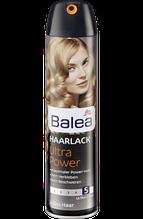 Лак для волос Природный блеск c ультра сильной фиксацией   Balea Ultra Power Haarspray  300 мл.