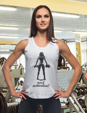 Спортивная майка Need Motivation?