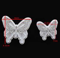Вырубка оттиск для мастики  Бабочки