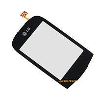 Сенсор (тачскрин) LG T500, T510, T515 Black