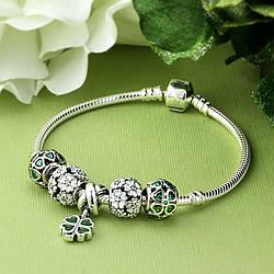 Подарочный браслет на удачу в стиле Pandora