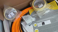 Тонкий греющий кабель (не требует стяжки) Комплект 3 м.кв