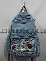 "Рюкзак женский джинс (30x40 см) серии ""Prestige"" LG-1551"
