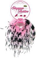 Браслет с перьями Slapper Tickler — Pink/Black