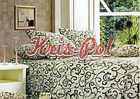Комплект постельного белья полиэстер 3D ТМ KRIS-POL (Украина) двуспальный 53850161
