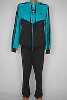 Женский спортивный костюм  Adidas  большого размера(батал)