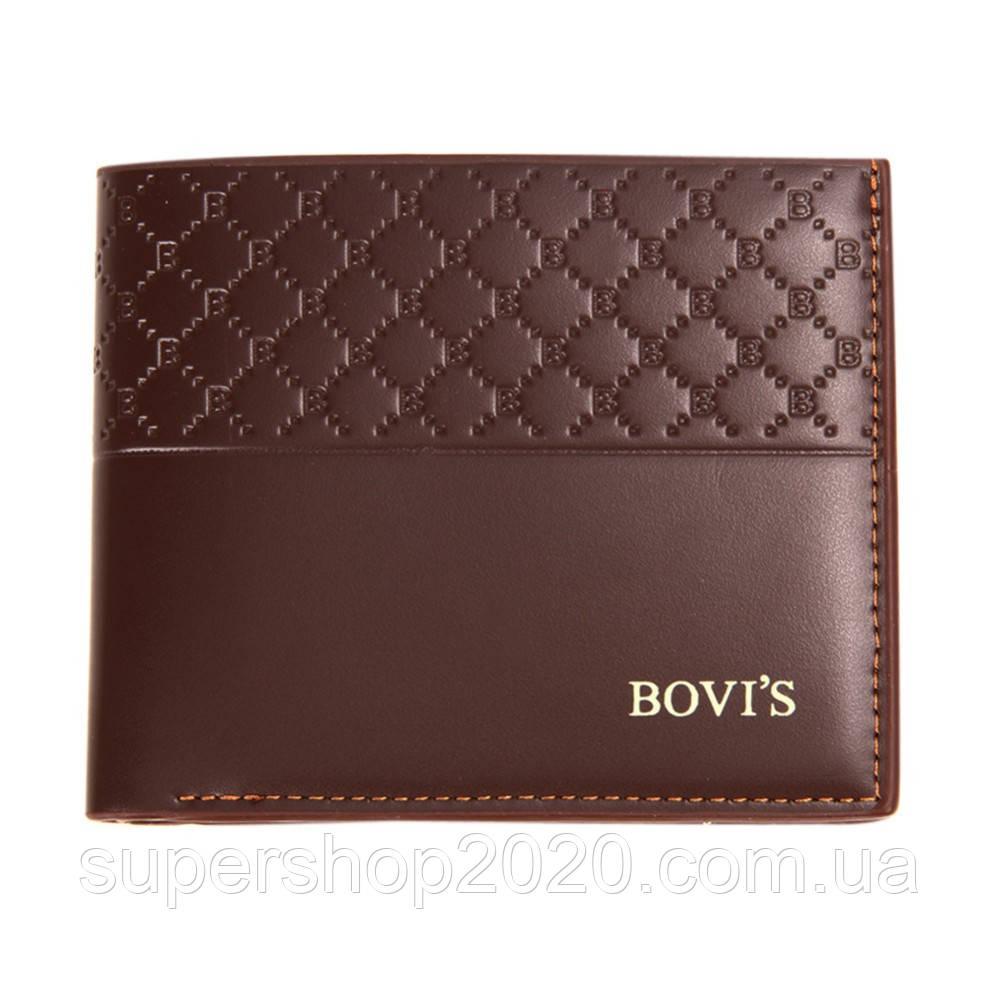 Чоловічий гаманець BOVI'S Brown