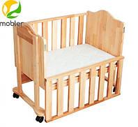 Приставная кроватка для новорожденных kp-101, Mobler