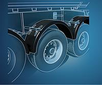 Подкрылки. защиты колёсных арок, локера Dacia Daewoo  Dodge FAW