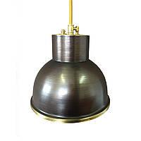 Светильник подвесной купол Loft Steampunk [ Pendant Dark Patina ], фото 1