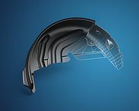 Подкрылки, внутренние защиты колёсных арок Локера, Защиты арок колёс VW Volkswagen Volvo