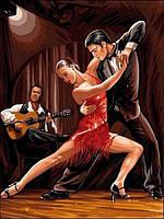 Картины по номерам 30×40 см.  В ритме танго