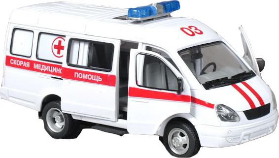 Детская инерционная машинка Joy Toy Скорая помощь/Служба спасения 9098