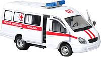 Детская инерционная машинка Joy Toy Скорая помощь 9098-E