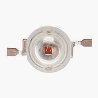 Мощный красный светодиод (Red) LED 3W 660нм. для растений