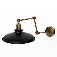 Настенно-потолочный светильник купол Loft Steampunk [ on Wall Ceiling Black ] ( 4-х поворотный )