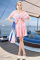 Пляжная прозрачная туника накидка из вискозы сетки 42-52 размеры, фото 1