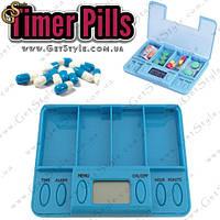 "Контейнер для лекарств с таймером - ""Timer Pills"", фото 1"