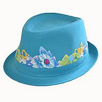 Шляпа джинсовая Элиза