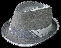 Шляпа серая классическая Канны