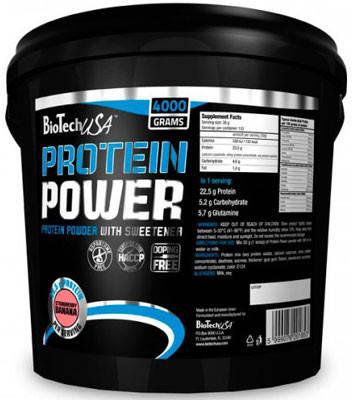 Протеїн BioTech Protein Power 4000 г, фото 2