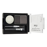 Набор теней для бровей NYX Eyebrow Cake Powder (ECP) 01 Black/Grey
