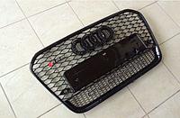 Решетка радиатора RS6 на Audi A6 (C7), с черным ободком