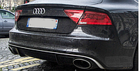 Диффузор RS7 заднего бампера Audi A7