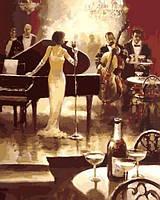 Картины по номерам 40×50 см. Ночь джаза