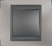 Рамка 1 пост. Unica Top титан/графит MGU66.002.295
