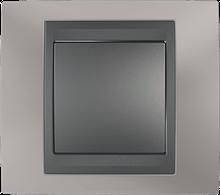 Рамка 1 пост. Unica Top титан/графіт MGU66.002.295