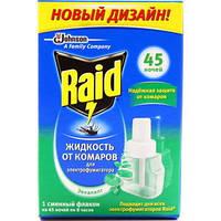 Жидкость от комаров Raid Эвкалипт на 45 ночей