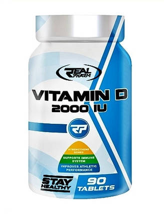 Real Pharm Vitamin D 90 caps, фото 2