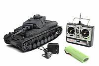 """Танк 3859-1 игрушечный на р/у """" DAK Pz. Kpfw.IV Ausf. F-1"""" 1:16 , фото 1"""