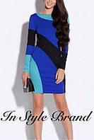 Короткое платье с длинным рукавом БК1560