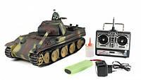 """Танк 3879-1 игрушечный на р/у """"Panther type G"""" с ИК пушкой 1:16"""