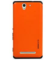 Чехол SGP Spigen Slim Armor для Sony Xperia C3 D2502 (Dual) Orange