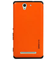 Чехол SGP Spigen Slim Armor для Sony Xperia C3 D2502 (Dual) Orange