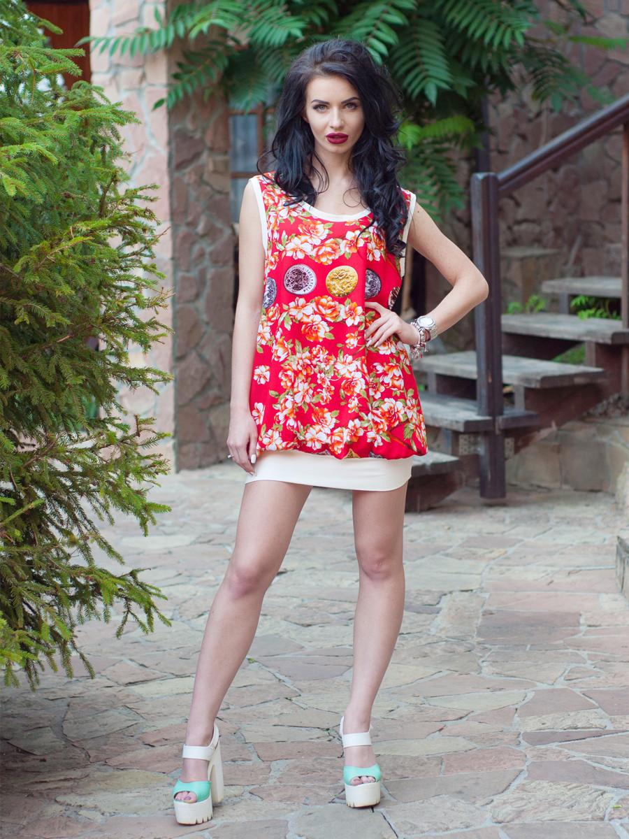 Летнее платье-туника