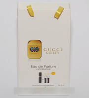 Gucci Guilty мини парфюмерия в подарочной упаковке 3х15ml