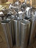 Відвід 4-х сегментний з оцинкованої сталі 0,5 мм 114/30, фото 6