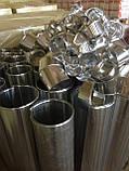 Відвід 4-х сегментний з оцинкованої сталі 0,5 мм 114/30, фото 7