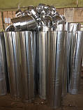Отвод 4-х сегментный из стали оцинкованной 0,5мм 25/30    , фото 8